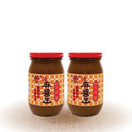 ~真老~~六十年老店~ 天然食材~小麻醬王~原味芝麻醬^(450g^)~兩入~