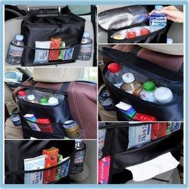 汽車掛袋 椅背保冷置物袋 多功能雜物儲物整理 掛袋紙巾盒【HH婦幼館】