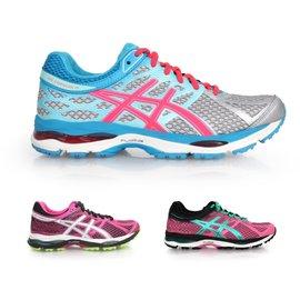 ASICS GEL-CUMULUS 17 女慢跑鞋(免運 路跑 亞瑟士【02014988】≡排汗專家≡