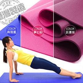 台灣製造6MM瑜珈墊P273-814B (PVC運動墊遊戲墊止滑墊防滑墊寶寶爬行墊軟墊睡墊野餐墊野餐地墊子沙灘墊海灘墊推薦哪裡買)