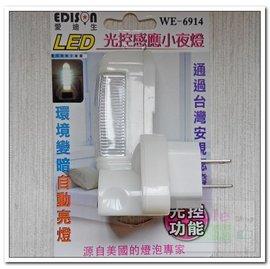 LED光控感應小夜燈 光感應夜燈 亮度不足時自動亮燈