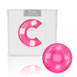 粉紅玫瑰 甜甜圈酵素美容皂