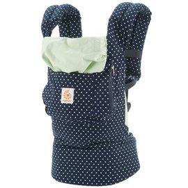 【紫貝殼】『BA02』美國Ergo Baby ergobaby Carrier爾哥寶寶揹帶/揹巾/背巾(原創*薄荷圓點) 【贈美國製醫療香草奶嘴3顆】