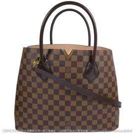 Louis Vuitton LV N41435 Kensington 棋盤格紋兩用 包
