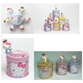 不正常玩具  Hello kitty 巧克力派對 3代 置物盒 收納罐 單入 出一款
