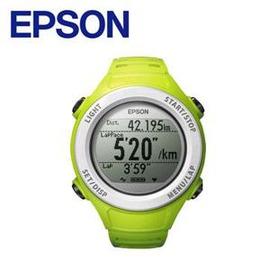 【綠蔭-全店免運】EPSON SF-110G Runsense 路跑教練GPS手錶 - 綠
