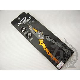 ◎百有釣具◎JIGNESIS X3路亞鉗~特殊鉗頭設計,業界唯一路亞環#1~#11H 大小通吃,一把搞定。