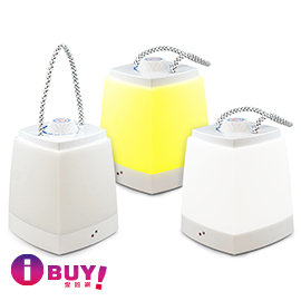 ~iBUY愛敗網~USB LED 可充電式露營燈手提燈~白光 黃光 USB~55