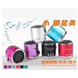 TF/micro SD卡 USB MP3小音箱/音響/收音機/隨身聽 **圓款Z-12**