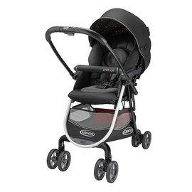 GRACO 購物型雙向嬰幼兒手推車-城市商旅 Citi ACE (黑金剛67500),贈ansa喝水訓練杯*1