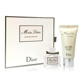 Dior 迪奧 Miss Dior 花漾迪奧 精巧香氛 ^(香水5ml 身體乳20ml^)