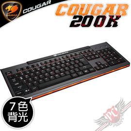 PC PARTY   美洲獅 COUGAR 200K 電競剪刀腳鍵盤 七色背光