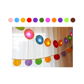 ^~韓風童品^~ LED圓點 燈串 派對裝飾 居家裝飾吊飾 兒童房佈置 驚喜派對 門簾 戶