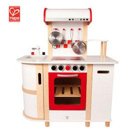 【紫貝殼】『CGD20』德國 Hape 愛傑卡廚房系列-豪華版廚具台