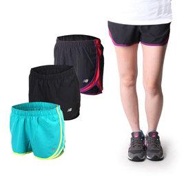 NEW BALANCE 女運動短褲(慢跑 路跑 NB【04350993】≡排汗專家≡