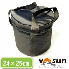 【VOSUN】24×25cm 大型鍋具專用袋.大型鍋具袋.鍋袋.收納袋.置物袋.手提袋/露營.登山.鍋具組/BG-001