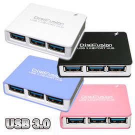 伽利略 USB 3.0 4 PORT MINI HUB^(U3H04D^)