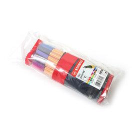 魔法森林STABILO point 88 款式細字彩色簽字筆 0.4mm 25色筆袋裝版8