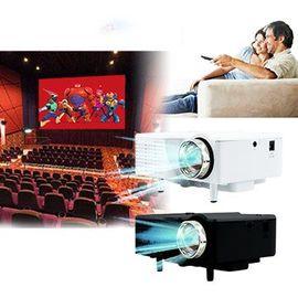 IS愛思 120吋微型投影機 迷你攜帶方便 支援HDMI輸入