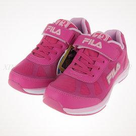 6折出清~FILA 夜光系列 兒童 舒適 透氣 慢跑鞋 (3-J802P-255)