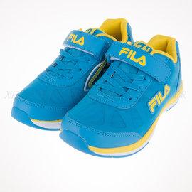 6折出清~FILA 夜光系列 兒童 舒適 透氣 慢跑鞋 (3-J802P-399)