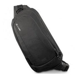 【澳洲 Pacsafe】新款 VentureSafe 325 GII 多功能防盜側背包.RFID防盜護照包.斜背包6L.貼身胸前包.防割破.防竊合金鋼繩 PA038
