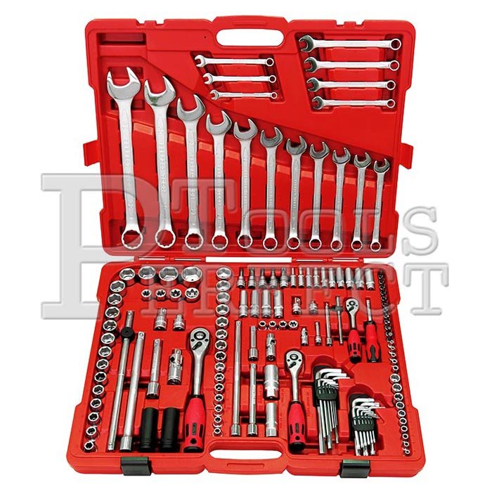 【完美工具S4146A-BS1 】146件1 4兩分 3 8 三分 1 2 四分套筒起子多