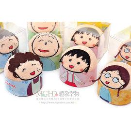 ~ 製~櫻桃小丸子~  !首創蛋糕毛巾! 發售~友藏.小玉.花輪 景品.杯緣子. .PVC