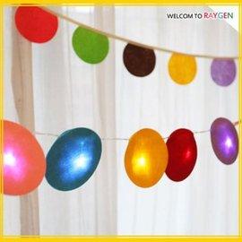 彩色球LED裝飾彩燈派對佈置裝飾道具【HH婦幼館】