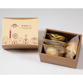 月餅 糕餅~典藏~綜合4入 ~蛋黃酥 漢坊金沙小月 什錦堅果塔 鳳梨酥(蛋奶素)