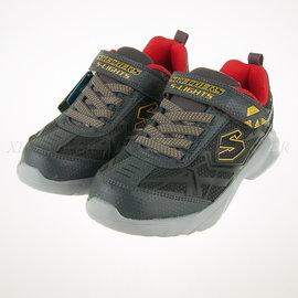 65折出清~SKECHERS (童) 男童系列 電燈鞋 慢跑鞋 - 90440LCCRD
