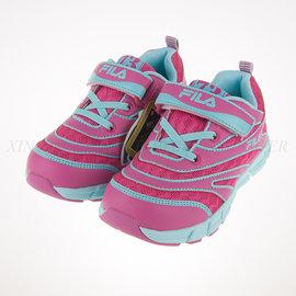 6折出清~FILA 夜光系列 兒童 舒適 透氣 慢跑鞋 (2-J822P-233)