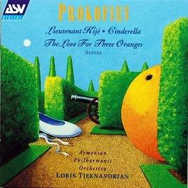 ASV DCA886 普羅可菲夫管弦樂精華曲輯 Prokofiev Op60 Op109
