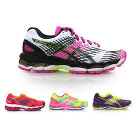 ASICS GEL-NIMBUS 17 女慢跑鞋(免運 路跑 健走 亞瑟士【02014663】≡排汗專家≡