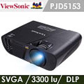 ViewSonic優派 PJD5153 SVGA DLP投影機^(加贈雷射筆 投影機燈泡