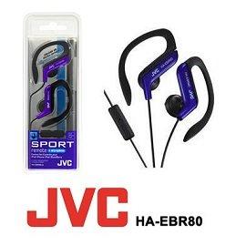 JVC HA~EBR80 型耳掛式耳機附通話麥克風 貨~藍色