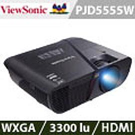 ViewSonic優派 PJD5555W WXGA商業應用投影機^(加贈雷射筆 投影機燈泡