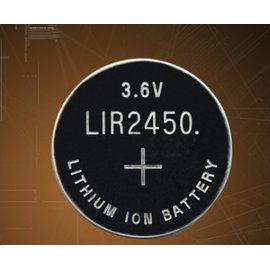 LIR2450 3.6V手錶電池/水銀電池/鋰電池/紐扣電池/水銀電池 (可充電式) [KBO-00009]