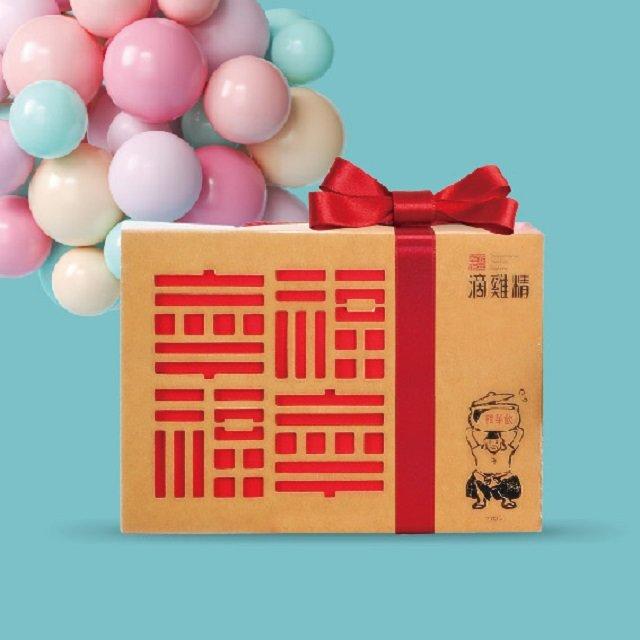 勤億幸福滴雞精 1盒 82折 (老母雞煉湯)共1盒20包/每包65CC 保證市場最低,買貴退差價[可刷卡]