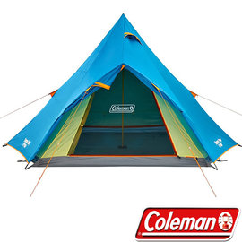 Coleman Winds Light 4~5人印地安帳篷 透氣帳 露營帳 客廳帳 防蚊帳