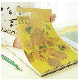 72街 Easy Life~ 油畫空白本 風景素描本 速寫本 塗鴉本子 美術系 繪圖本