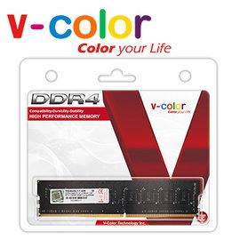 V~Color 4GB DDR4 2400MHz 桌上型記憶體