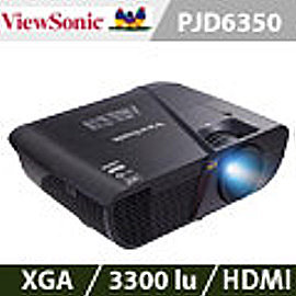 ViewSonic優派 PJD6350 XGA美背光艦投影機^(加贈雷射筆 投影機燈泡