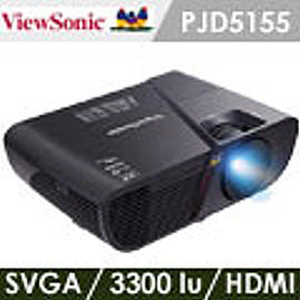 ViewSonic優派 PJD5155 SVGA光艦投影機^(加贈雷射筆 投影機燈泡  維