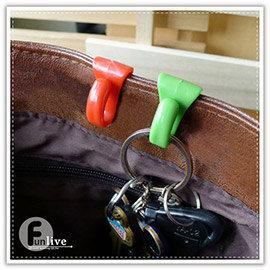 【Q禮品】A2608 防丟包包鑰匙掛勾-2入/創意包包內鑰匙掛勾/包包夾層掛勾/鑰匙夾/防小偷安全掛鉤/攜帶鑰匙扣