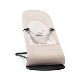 【紫貝殼】『GCH25-6』BabyBjorn Bouncer Balance Soft 柔軟彈彈椅-透氣/咖啡 【彈彈椅自然擺動不需使用電池/符合人體工學】【正品】