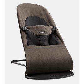 【紫貝殼】『GCH25-9』BabyBjorn Bouncer Balance Soft 柔軟彈彈椅-有機/咖啡 【彈彈椅自然擺動不需使用電池/符合人體工學】【正品】