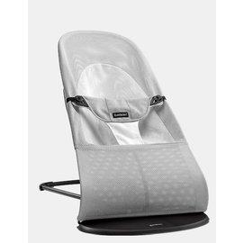 【紫貝殼】『GCH25-8』BabyBjorn Bouncer Balance Soft 柔軟彈彈椅-透氣/淺灰  【彈彈椅自然擺動不需使用電池/符合人體工學】【正品】