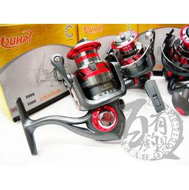 ◎百有釣具◎FUKUSHIMA 代理 歐海 8BB 8培林 紡車式捲線器 CBA-5000/ CBA-6000
