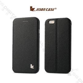 JisonCase Apple iPhone 6 4.7吋 真皮翻蓋皮套 可站立 保護套